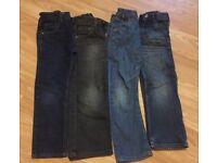 4x NEXT Boys Jeans Age 6/7
