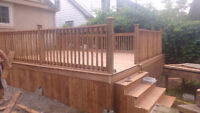 Fences and Deck By Bear