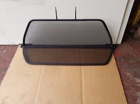 BMW M3 E46 CONVERTIBLE CAB REAR WIND DEFLECTOR WITH COVER