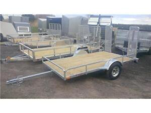 BIGGEST AND BEST SELECTION OF GALVANIZED TRAILERS AROUND