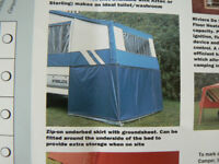 pennine stirling camper trailer underbed storage skirt