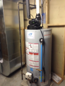 Goodman Furnace MEC96/John Wood Gas Water Heater for sale