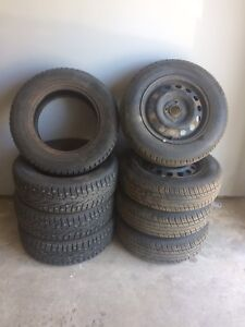 2 sets of new tires size 14
