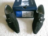 Black Suede Shoes - PRICE REDUCED.