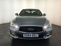 2014 INFINITI Q50 PREMIUM DIESEL AUTOMATIC 1 OWNER INFINITY HISTORY FINANCE PX