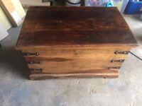 Sheesham/Jali storage chest/trunk