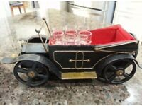 Vintage car drink holder