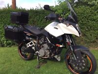 KTM SMT 990 loaded with extras including full SW Motech luggage