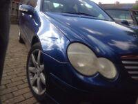 Mercedes C230 Coupe Kompressor Evo Pan