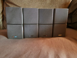 4 Bose Double Cube Speakers Acoustimass Soundlink series