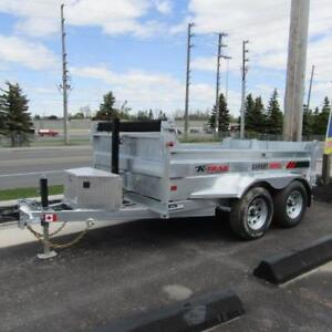 Just Reduced! Galvanized Steel Dump Trailers