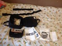Body Toner & Toning Belt Bodi-Tek 6-8 Conductive Pads + Body Straps & GEL