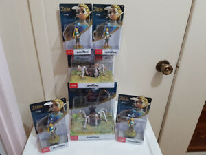 Amiibo Zelda et Guardian pour la switch