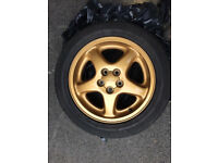 Subaru Wheels Set Of 4. Pirelli P6000 - 205/55R16