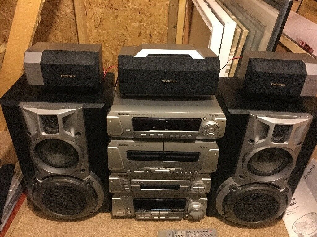 Technics HiFi Stereo 5 x Speaker System (Connect to TV for Surround ...