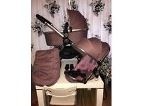 Icandy Peach 3 in Marshmallow travel system