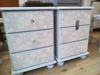 REDUCED PRICE - Pretty set of Bedside Tables.