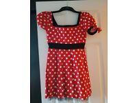 minnie mouse dress size 10
