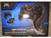 Gioteck VX1 Wired Gaming Controller PS3 / PC