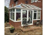 GLASS CONSERVATORY ROOF ONLY