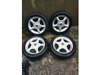 Mini Alloys (Great Tyres) bmw, free delivery if needed