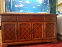 Hard wood replica sideboard