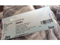 James tickets x 2