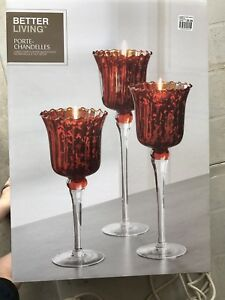 Lovely tall candle holders