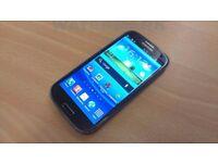 Samsung galaxy s3 GT-i9300 Smart Mobile phone unlocked. good condition Black 16GB