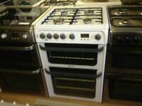 Hotpoint gas cooker (double gas oven)