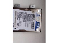 For Sale Hard Drives for Laptops 320Gb, 240Gb, 160Gb, 60Gb and DDR RAM 1GB