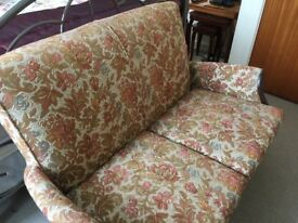 Vintage Parker knoll sofa
