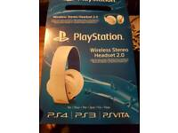 Playstion wireless stereo headset 2.0