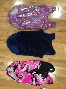 Gymnastics suits size 8-10