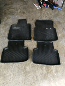 Acura TLX all weather mats