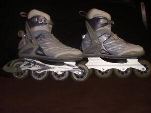 """Women""""s Roller Blades size 10 $25"""