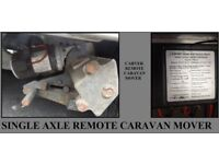 Caravan Or Trailer Remote Control Motor Mover Single Axle Bargain