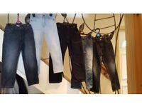 Boys jeans bundle age 5-6 years