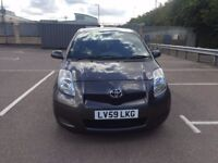 TOYOTA YARIS 2009 AUTOMATIC VERY LOW MILEAGE MINT CONDITION 3 DOOR