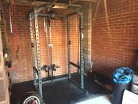 Complete home/garage gym set up, Commercial Quality *REDUCED*