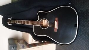 Takamine Acoustic Guitar with pre-amp