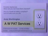 PAT Testing - AW PAT Services