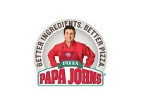 ****DELIVERY DRIVERS WANTED PAPA JOHNS LEEDS, HARROGATE