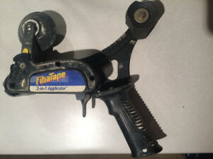 Fibre-tape applicator