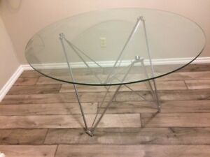 Glass Eiffel Table ~ Dining