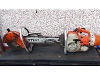 Stihl chain saw /Stihl concrete saw