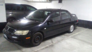 2003 Mitsubishi Lancer ES Sedan AS IS