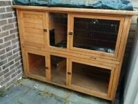 Rose Cottage rabbit cage