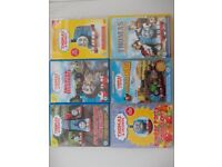 Thomas The Tank Engine DvDs.