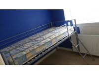single kids bunk bed